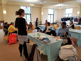 Parents learn new skills at the Sussex County Family Success Center.