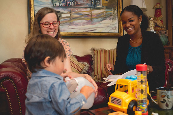 Pregnant women and parents of young children can get help at Project Self-Sufficiency.