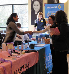 Career Fairs are hosted by the Sussex County Family Success Center.