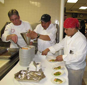 Perona Farms Executive Chef Kirk Avondoglio supports Project Self-Sufficiency at A Taste of Talent.