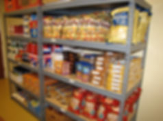 Donate food to Project Self-Sufficiency to help families in need.