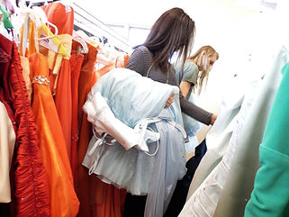 Free prom dresses available at the Sussex County Family Success Center.