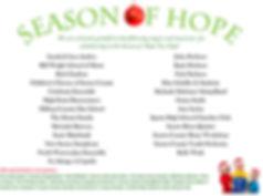 Season of Hope Musician List, 2018_poste