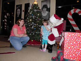 The Holiday Party features games, music and a visit from Santa.