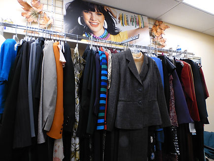 Donate used business clothing to Project Self-Sufficiency.