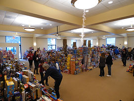 New, unwrapped toys are available for kids and teens at the Sussex County Family Success Center.