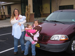 Car donation to Project Self-Sufficiency