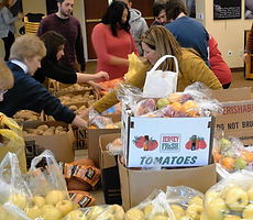Free food for Thanksgiving is offered by the Sussex County Family Success Center at Project Self-Sufficiency.