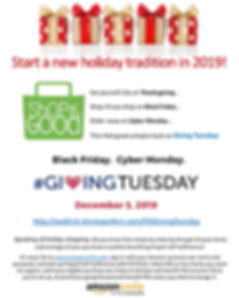 Support Project Self-Sufficiency on Giving Tuesday