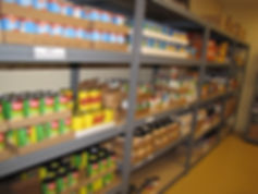 Food donations welcome at Project Self-Sufficiency.