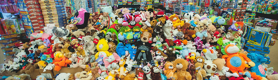 New, unwrapped toys are available to families in need during the holidays.