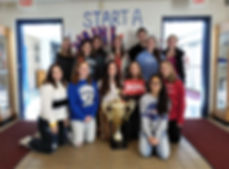North Warren Regional won the 2018 Stuff the Stocking contest