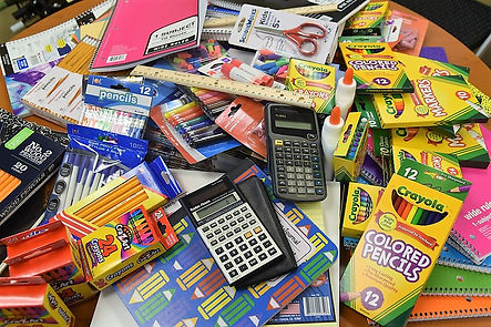 Donate school supplies to Project Self-Sufficiency.