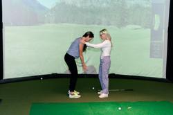 Instruction @Boutique Indoor Golf Venue
