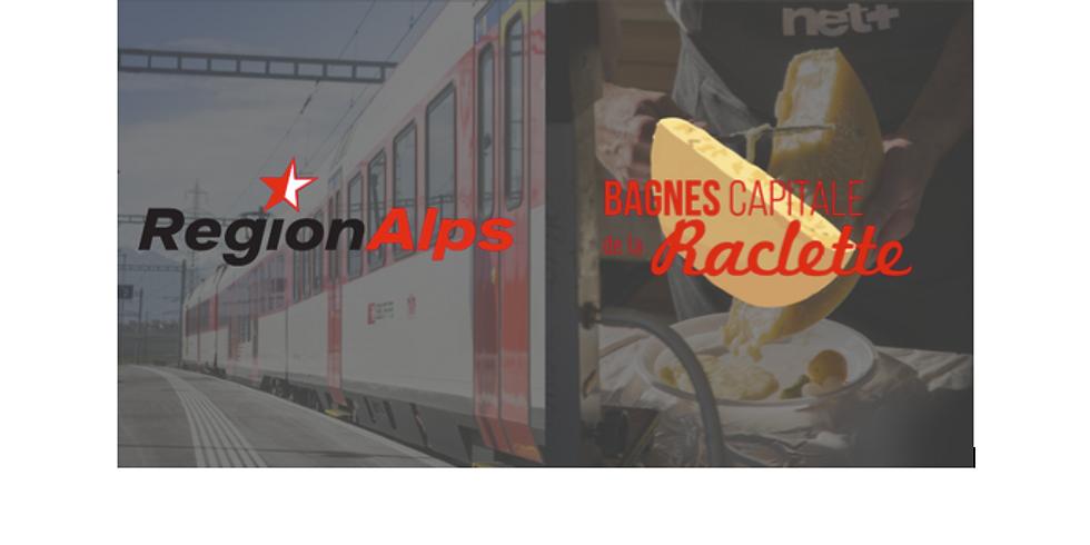 Pass Train Raclette - Samedi