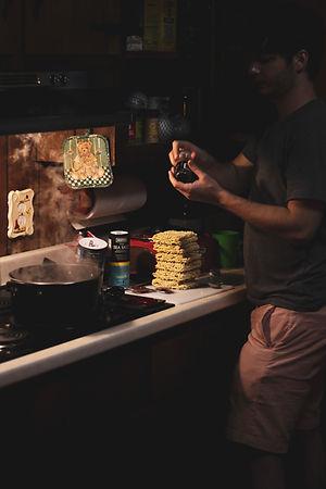 Jared preparing pizza ramen 3 .jpg