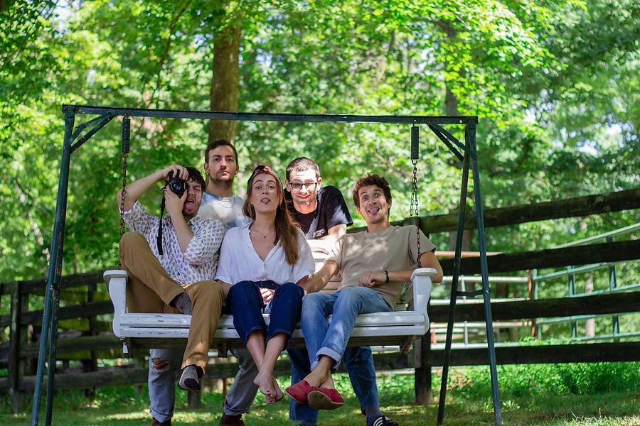 Group pic bench silly.jpg
