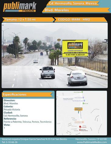Blvd. Morelos (Frente a Palermo) - Vista 1