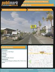 Blvd. Kino y 5 de Mayo - Vista 1