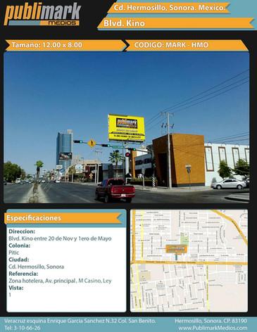 Blvd. Kino - 20 de Nov. y 1ero de Mayo - Vista 1