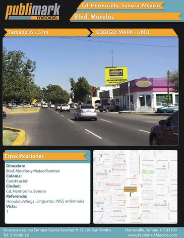 Blvd. Morelos y Mateo Ramirez - Vista 1