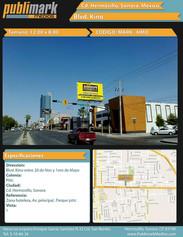 Blvd Kino - 20 de Nov. y 1ero de Mayo - Vista 1