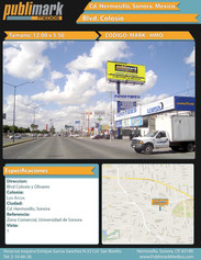 Blvd Colosio y Olivares - Vista 1