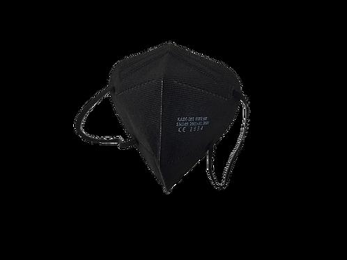 FFP2 Mund-Nasenmaske schwarz 20 Stück