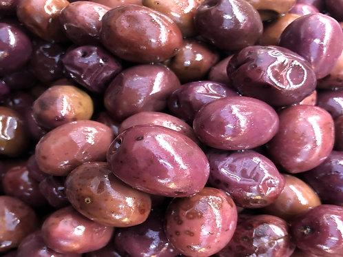 Schwarze Mammuth Oliven