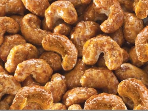 Cashew mit Caramel und Apfel-Zimt (200g)
