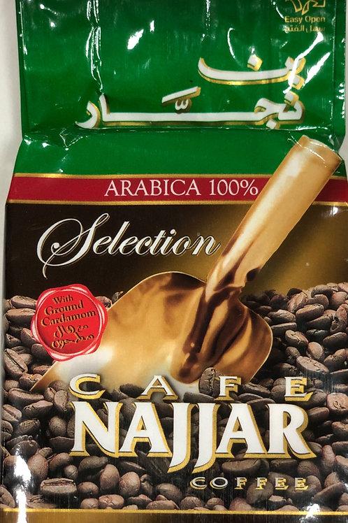 Kaffe Najjar mit Cardamon 200g.