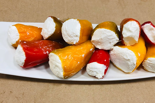 Pfefferoni mit Käse Süß