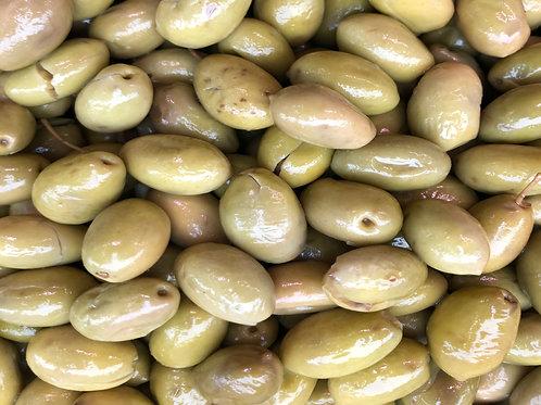 Grüne Libanesische Oliven
