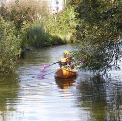 Adventure Activities Kayaking Around Our Moat