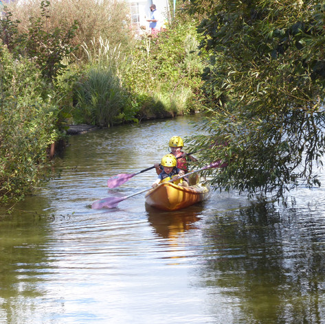 Adventure Activities Kayaking Around Our Moat