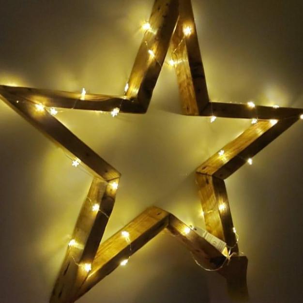 RUSTIC TIMBER STARS