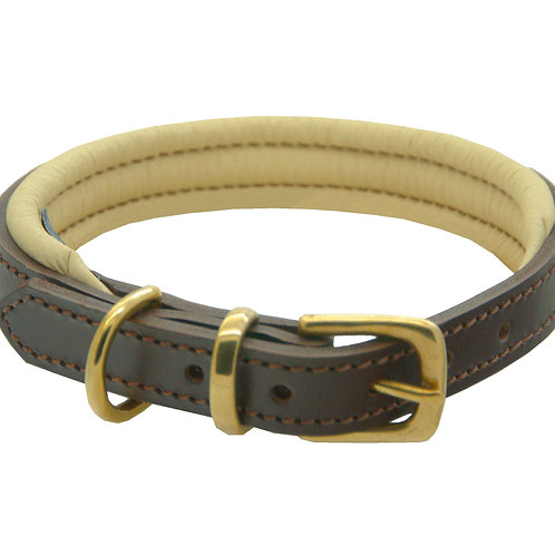 Dogs & Horses Luxury Leather Collar (More Colours)