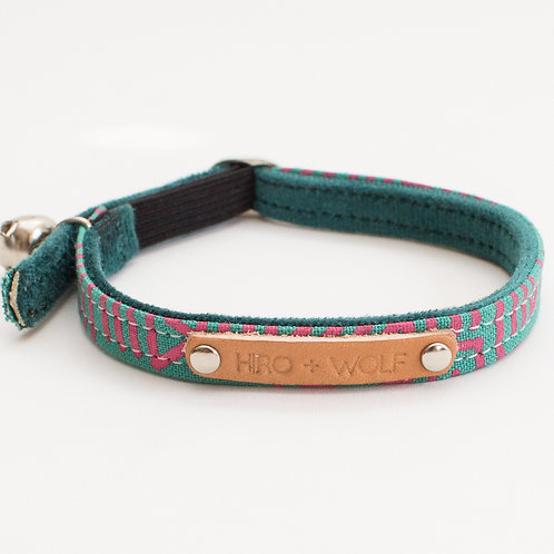 Cat Collar KM Turquoise