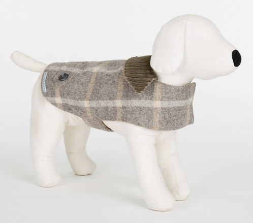 Slate Tweed Dog Coat | Is a London Pet Boutique with Design Lead ...