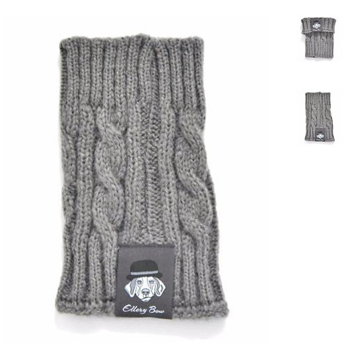 Dog Snood - in Grey (Large)
