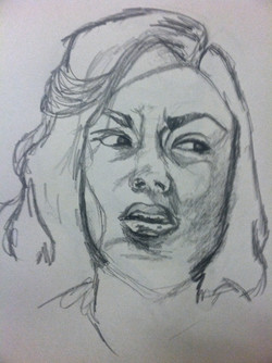 Portrait of Displeasure