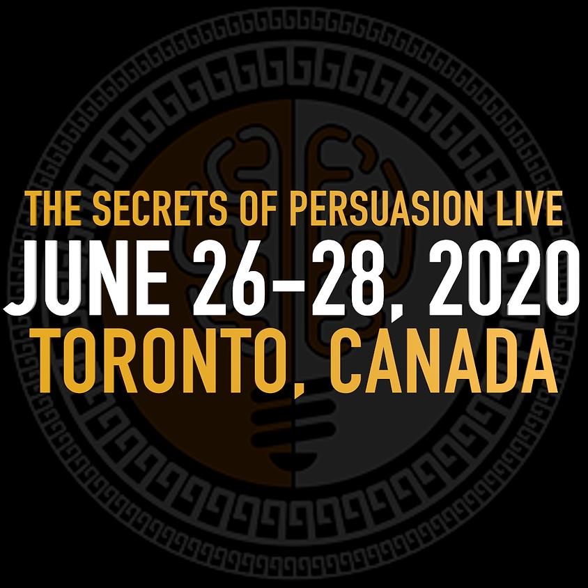 Training - The Secrets of Brain Persuasion w/ Chris Wyllie - LIVE  |  Jun 26-28 Toronto