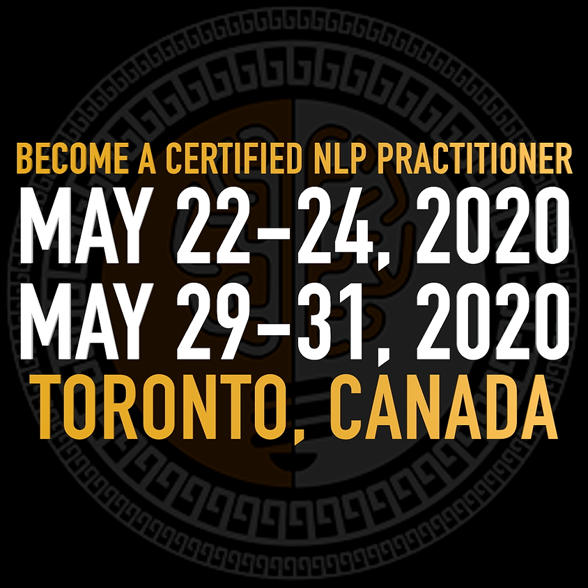 Training - NLP Practitioner Course w/ Chris Wyllie - LIVE     May 22-24 & 29-31 Toronto