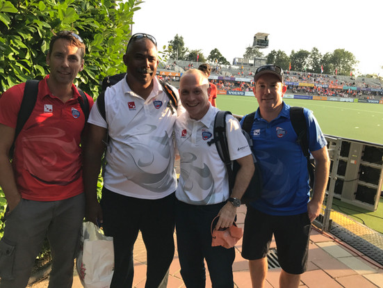 with my Mentor Colleagues Michel Kinnen (BEL). Siegfried Aikman (Japan), Chris Clements (NZL)