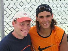 Andreas Prause und Rafael Nadal