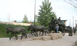 Blair  Bronze Wagon, full view