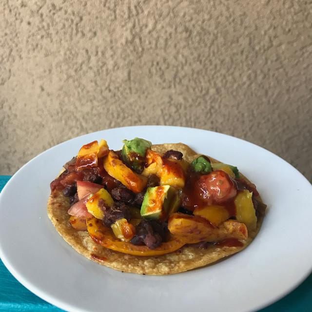 Black Bean Veggie Taco
