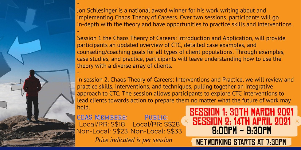 Chao Theory of Career - Session 2 Interventions and practice