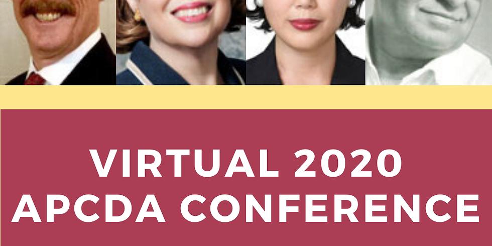APCDA 2020 Virtual Conference