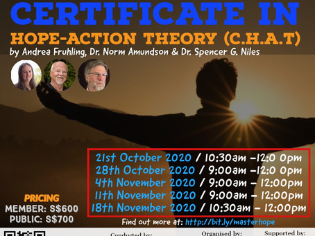 CDAS Master - Commencement of Certificate in HOPE ACTION THEORY (C.H.A.T.)